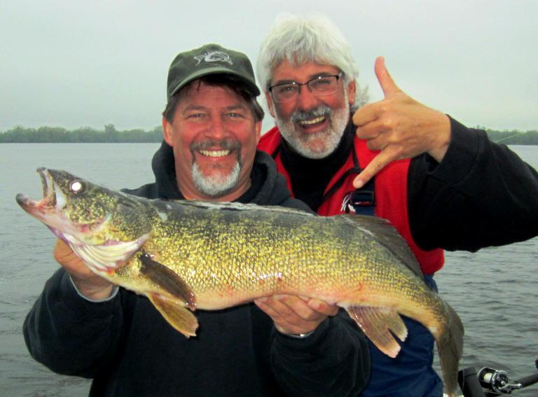 """Trophy Walleye"" -- May & August"