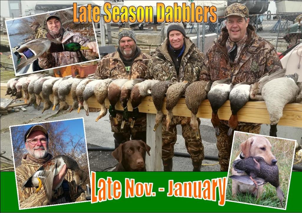 Puddle Duck Late Season Header JNL 2016-150